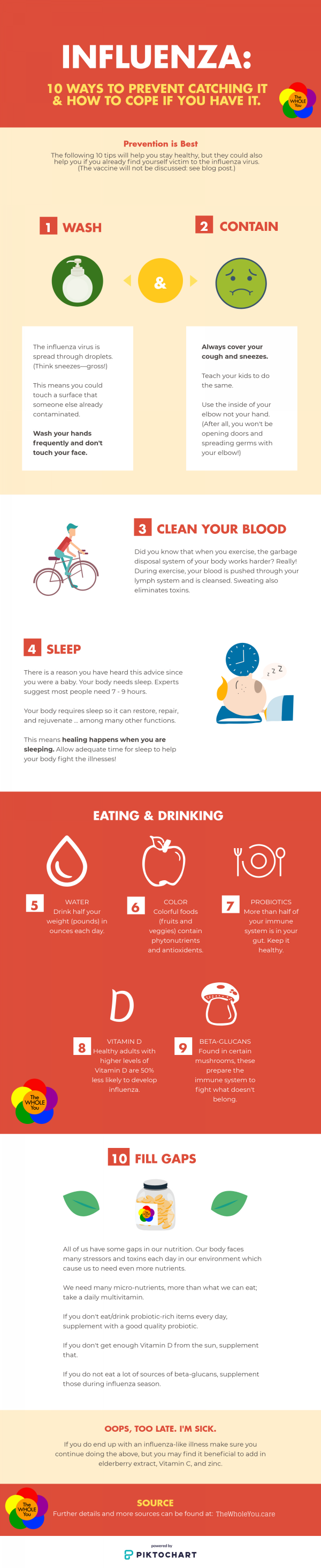10 ways to stay healthy during influenza season