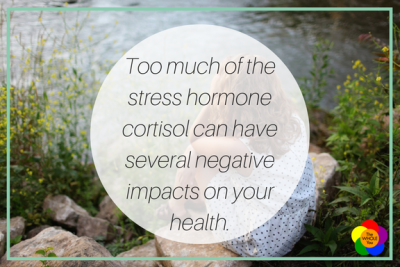 Too much of the stress hormone cortisol can have several negative impacts on your health.
