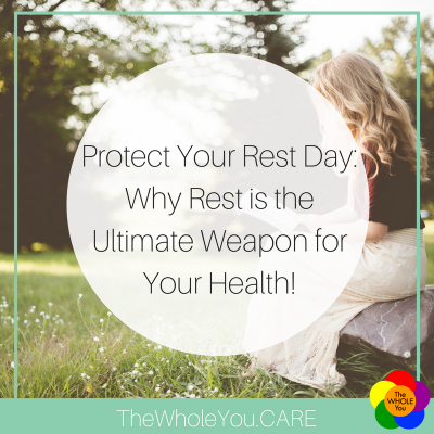 Protect Your Rest Day: Why rest is the ultimate weapon for your health!