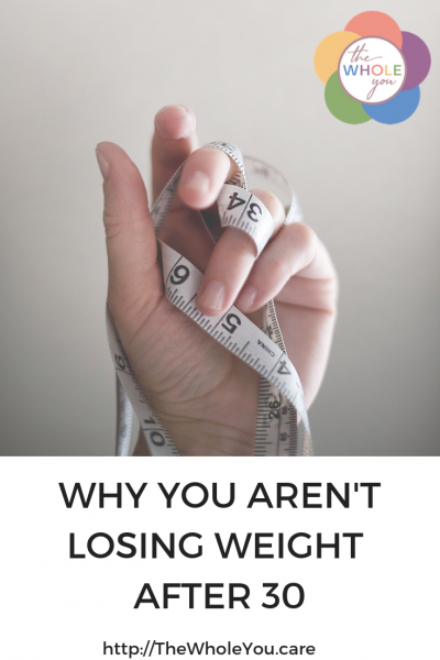 Why I can't lose weight after 30 years old