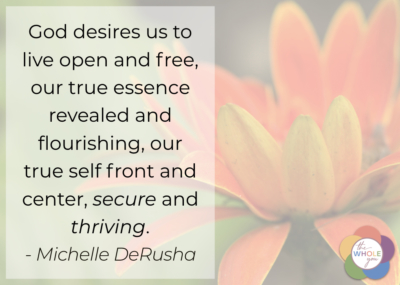 Your true self can be secure and thrive