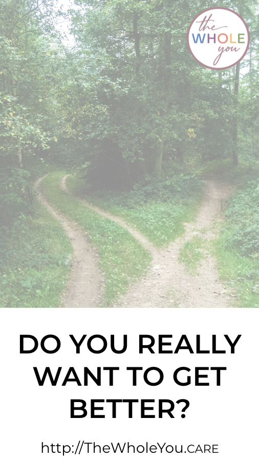Do you really want to get better? Feeling better can be easy when you follow a simple path to health.