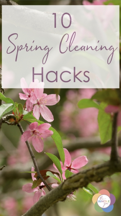 10 spring cleaning hacks that will save you time and energy