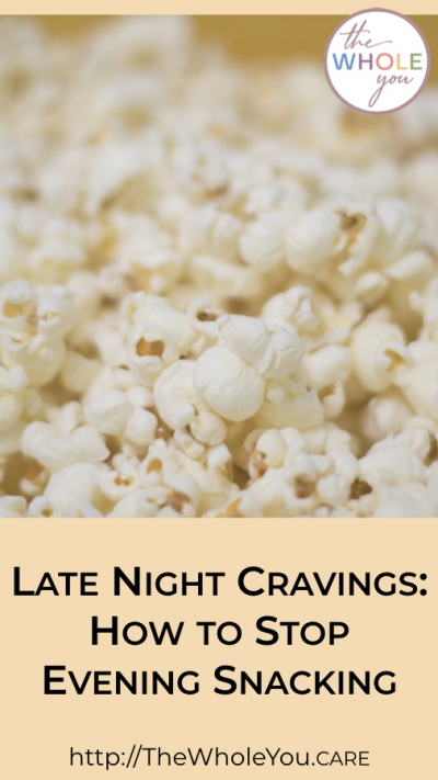 Late night cravings. How to stop evening snacking