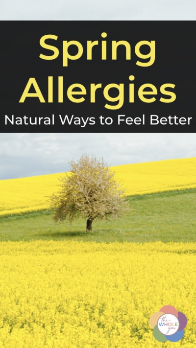 Natural ways to feel better. #allergies