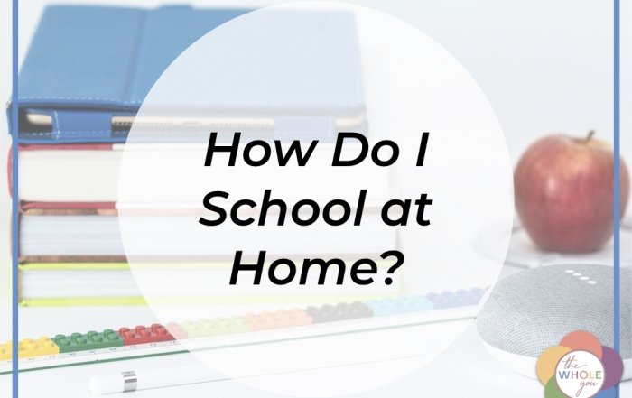 How do I do school at home?