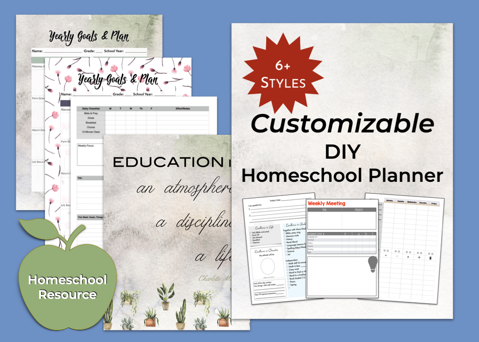 Homeschool Planner by The Whole You